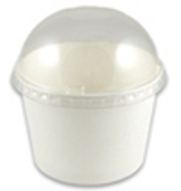 16 Oz. Frozen Yogurt Cups & Lids Bundle Package