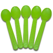 Biodegradable frozen yogurt spoons, yogurt spoons, frozen yogurt spoons, compostable spoons