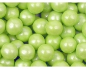 Pearlized Sixlets (Lime Green) 10 Lbs.
