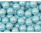 Pearlized Sixlets (Powder Blue) 10 Lbs.