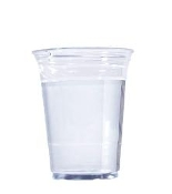 20 Oz Clear Plastic PET Cups 1000/Case