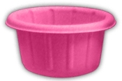 Yogurt sample cups are perfect for sampling yogurt. Vibrant pink sample cups are biodegradable. Yogurt Portion Cups.