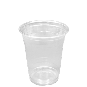 12 Oz Clear Plastic PET Cups 1000/Case