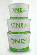 Eco Friendly Food Containers for frozen yogurt, ice cream and gelato. MyYogurtSupplies.Com