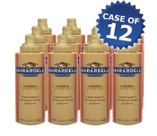 Ghirardelli Caramel Flavored Sauce Squeeze Bottles Case
