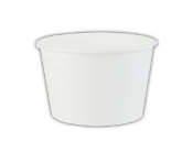 4 Oz. White Paper Ice Cream Cups 1000/Case