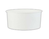 5 Oz. White Paper Ice Cream Cups 1000/Case