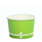 4 oz ice cream paper cups for ice cream, gelato, and frozen yogurt.
