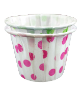 1/2 oz. Polka Dot Portion Cups 5000/Case