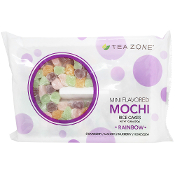 Tea Zone Rainbow Mini Mochi 300g Bag (25 Bags/Case)