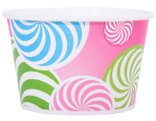 12 Oz. Swirl Yogurt Cups 1000/Case