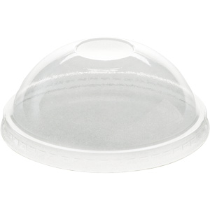 6 Oz. Clear Plastic Dome Lids (1000/Case)